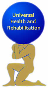 Universal Health and Rehabilitation Logo
